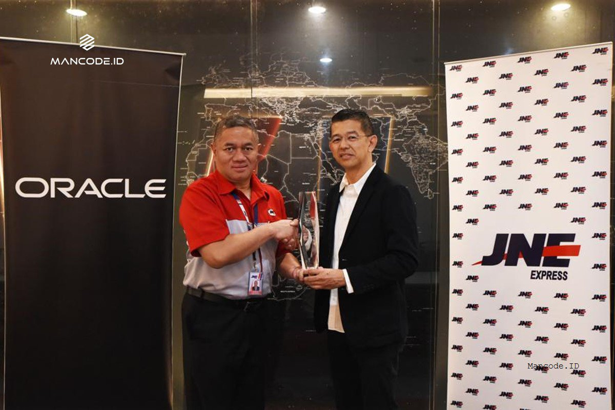 JNE raih penghargaan Oracle Excellence Award.jpg