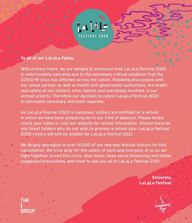 LaLaLa Festival 2020 Official Statement.jpeg