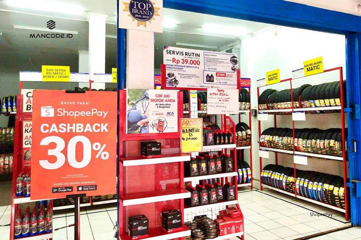 Shopeepay Berikan Cashback 30 Persen Untuk Pelanggan Planet Ban